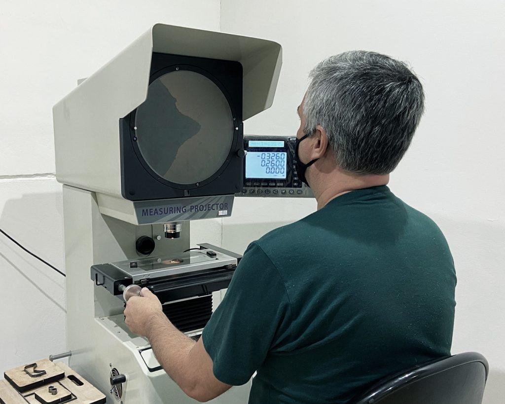 Laboratório de Testes - Koi Espumas - Análise de Perfil